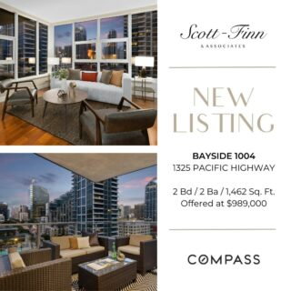 Check out this amazing opportunity to live in Bayside. Wonderful liveable floor plan, large patio and views to the southwest & east. Featuring Viking appliances, hardwood flooring, custom built-in entertainment center in the living room. Absolutely will not last at this offering price. Contact us at 619-762-4099 to schedule a showing.  Scott-Finn & Associates DRE #01493056 Compass DRE #01527365  #realestatesandiego #compasssd